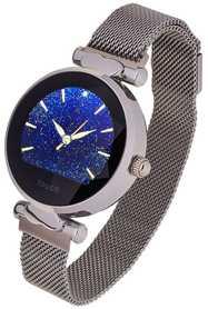 Smartwatch Garett Women Lisa kolor srebrny stalowy