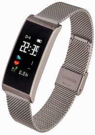 Smartwatch Garett Women Tina kolor srebrny stalowy