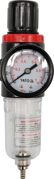 Yato YT-2382 reduktor z filtrem i manometrem