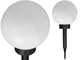 LAMPKA SOLAROWA PLASTIK KULA 36/15cm