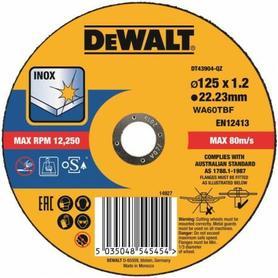 DEWALT TARCZA METAL 125x1,2mm