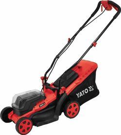 Yato YT-85221 akumulatorowa kosiarka do trawy bez napędu 34 cm 2x18V bez akumulatorów i ładowarki
