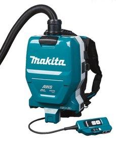 Makita DVC265ZXU akumulatorowy odkurzacz ogrodowy plecakowy 2x18V Li-Ion bez akumulatorów i ładowarki w kartonie