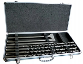 Makita D-42494 zestaw dłut i wierteł SDS-Max 7 elementów