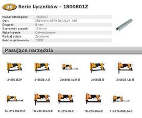 BOSTITCH 1800801Z ZSZYWKI 80 8 mm 10.000 szt.