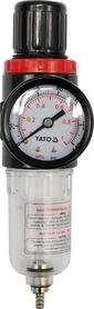 Yato YT-2382 reduktor z filtrem i manometrem 1/4''