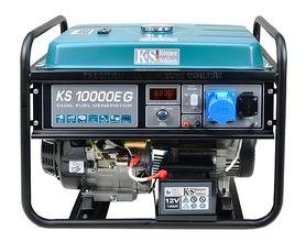 Könner&Söhnen KS10000EG agregat prądotwórczy 7,5kW 230V hybryda benzyna/LPG rozruch elektryczny