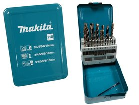 Makita D-46202 zestaw wierteł 18 szt.