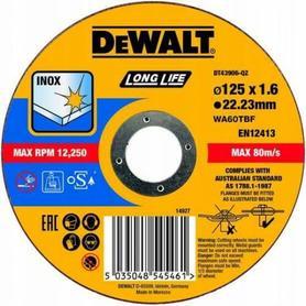 DEWALT TARCZA METAL 125x1,6mm
