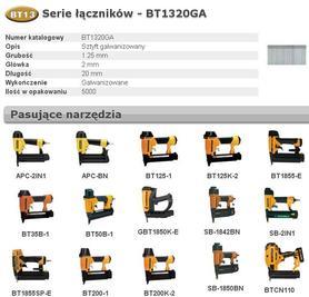 BOSTITCH BT1320GA SZTYFTY BT13 20 mm 5000 szt.