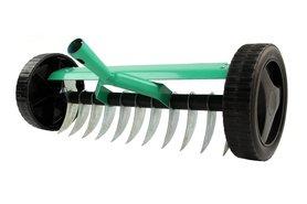 Greenmill ręczny wertykulator na kołach 34 cm bez trzonka GR9242
