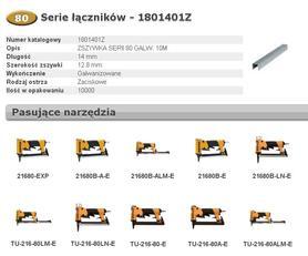 BOSTITCH 1801401Z ZSZYWKI 80 14 mm 10.000 szt.