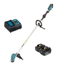 Makita DUR190LRT3 akumulatorowa podkaszarka do trawy 30 cm 18V 2x5,0Ah LXT silnik bezszczotkowy