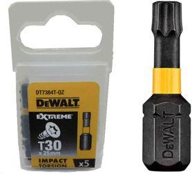 DEWALT KOŃCÓWKA UDAROWA T30x50 /5szt. EXTREME IMPACT TORSION