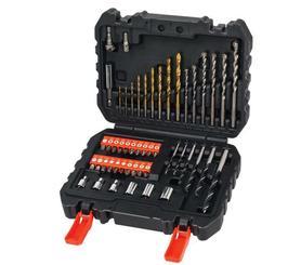 Black&Decker A7188-XJ zestaw wierteł i bitów 50 elementów