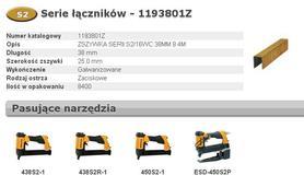 BOSTITCH BCH1193801Z ZSZYWKI S2/16WC 38 mm 8400 szt.