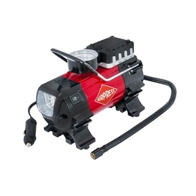 KOMPRESOR / SPRĘŻARKA MINI AIRPRESS  12V  Z LATARKĄ