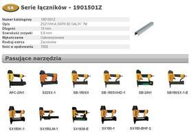 BOSTITCH 1901501Z ZSZYWKI 90 15 mm 7000 szt.