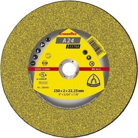 Klingspor 242138 tarcza do metalu 125x2,5x22,2mm A24 Extra