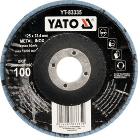 YATO ŚCIERNICA LISTKOWA TRZPIENIOWA 40 x 20 x 6mm P80
