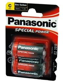 PANASONIC BATERIA R14R BLISTER 2szt.