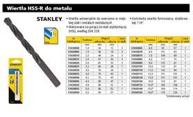 STANLEY WIERTŁO DO METALU  4 x 75mm /1szt.