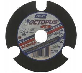 NORTON TARCZA SZLIF 125mm P36 OCTOPUS 66252829993