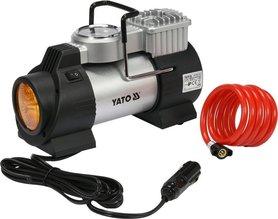 Yato YT-73460 sprężarka kompresor samochodowy z lampą Led 12V 180W