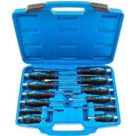Satra S-S12PC zestaw wkrętaków do pobijania 12 szt. w walizce