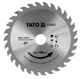 Yato YT-60682 piła do cięcia drewna 216x30 mm 48 zębów HM