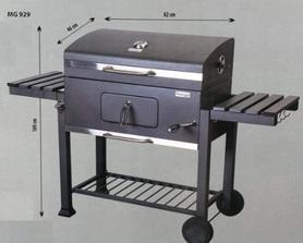 Master MG929 grill prostokątny z pokrywą