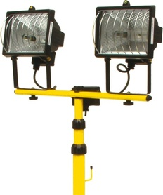VOREL REFLEKTOR HALOGENOWY 400W / 2 LAMPY, STATYW   82787
