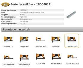 BOSTITCH ZSZYWKI 80  6mm 10 000 szt.