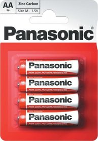 PANASONIC BATERIA AA R6R BLISTER 4szt.