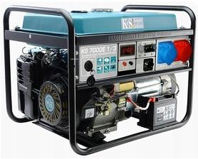 Könner&Söhnen KS7000E-1/3 agregat prądotwórczy 5,0kW 230/400V benzyna rozruch elektryczny