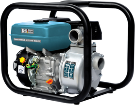 Könner&Söhnen KS50 spalinowa pompa wodna wysokociśnieniowa 5,5KM 500 l/min benzyna