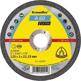 Klingspor 262936 tarcza do cięcia metalu 115x1,0x22,2mm A60 Extra