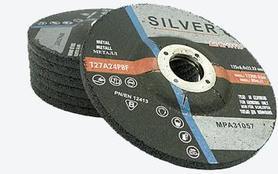 TARCZA DO SZLIFOWANIA METALU 125 x 6,4 x 22,2mm SILVER