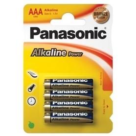 PANASONIC BATERIA ALKAICZNA AAA LR03E BLISTER 4szt.