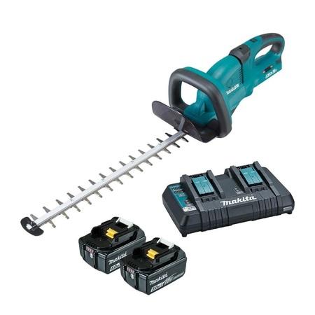 Makita DUH602RT akumulatorowe nożyce do żywopłotu 60 cm 18V 1x5,0Ah (1)